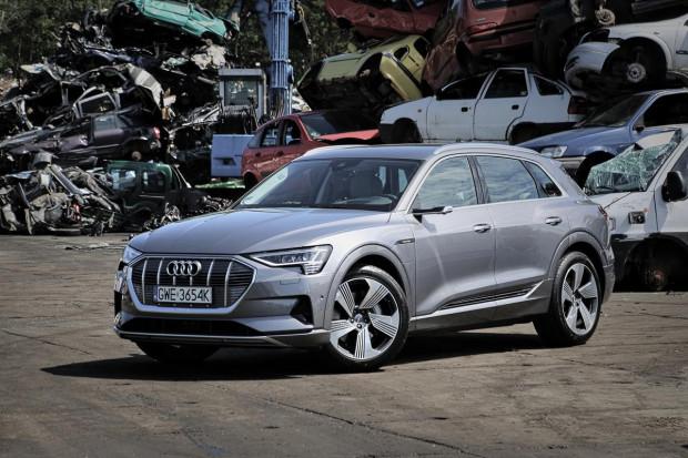 Pierwsze w historii elektryczne Audi.