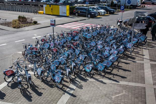 Stacja przy Olivia Business Centre cieszy się ogromnym zainteresowaniem. Od startu systemu rowery z tej stacji wypożyczono ponad 3700 razy.