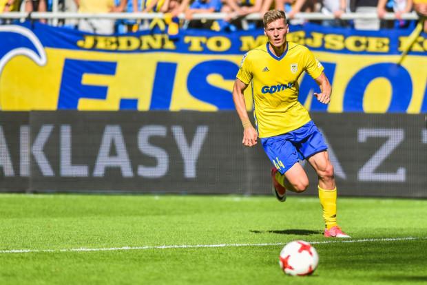 Michał Żebrakowski to jeden z sześciu piłkarzy wracających z wypożycze, którym trener Jacek Zieliński da szansę wykazania się podczas letnich przygotowań.