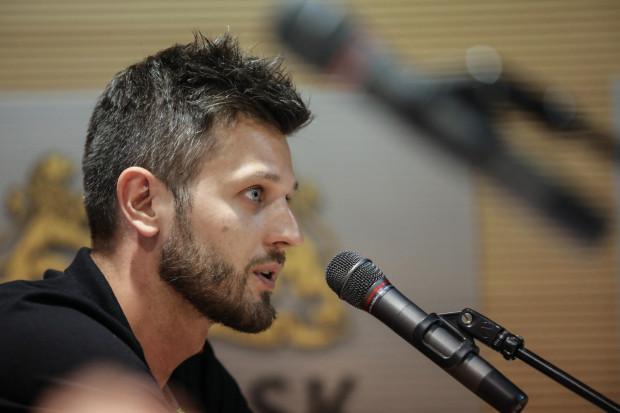 Dla Michała Winiarskiego praca trenera w Treflu Gdańsk jest początkiem przygody z samodzielnym działaniem nad drużyną.