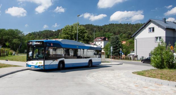Trolejbusy na Demptowo ruszą w najbliższy poniedziałek, 17 czerwca. Na razie pojazdy dojeżdżają tam testowo.