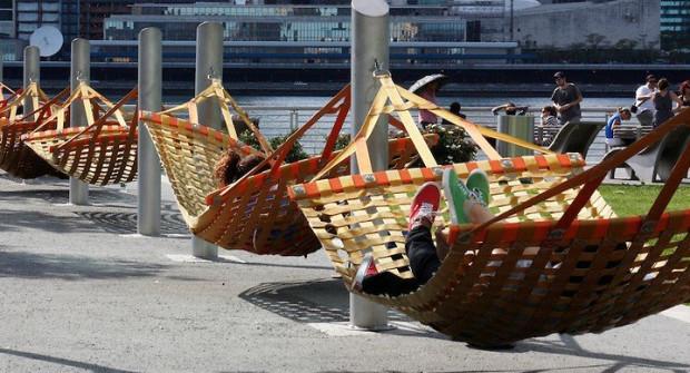 Hamaki zostaną zamontowane na początku wakacji.