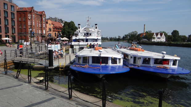 Od tego sezonu ceny biletów na tramwaj wodny wzrosły z 10 do 20 zł za kurs.