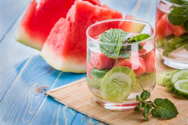 Arbuzy w 90 proc. składają się z wody i niewielkich ilości witamin i mikroelementów.