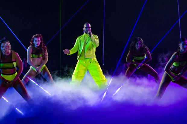 Maluma zaprezentował starannie dopracowane show.