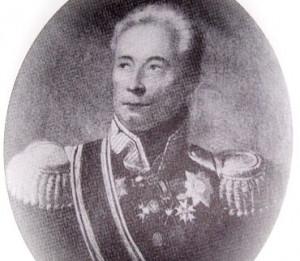 Ignacy Blumer w mundurze generała brygady armii Królestwa Kongresowego.