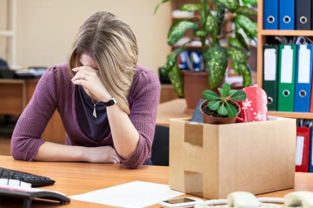 Nieuczciwy pracodawca często jest powodem dużego stresu.