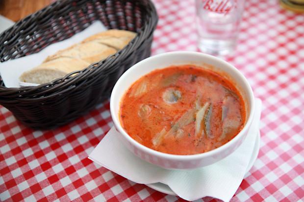 Nowoorleańska zupa krewetkowa