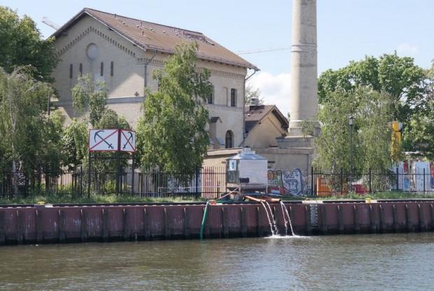 Awaryjny zrzut ścieków do Motławy trwał od 15 do 18 maja 2018 roku.