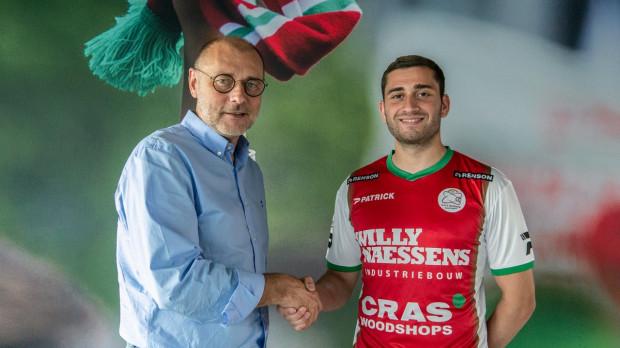 Luka Zarandia został zaprezentowany jako piłkarz Zulte Waregem. Podpisał kontrakt na 3 sezonu z opcją przedłużenia na kolejny.