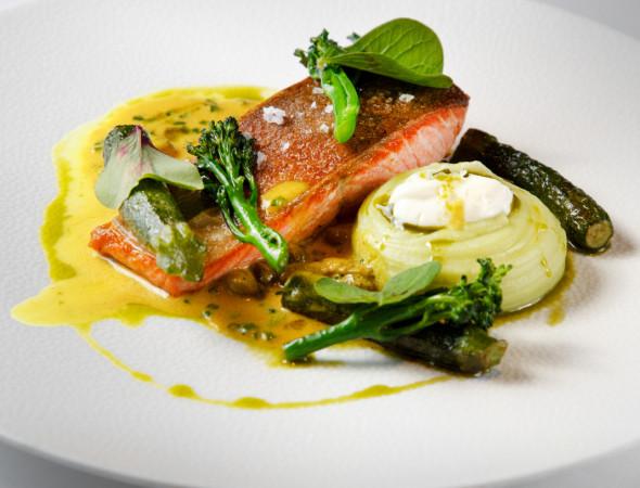 Przykładowe dania, które znajdą się w menu festiwalowej restauracji dla artystów.