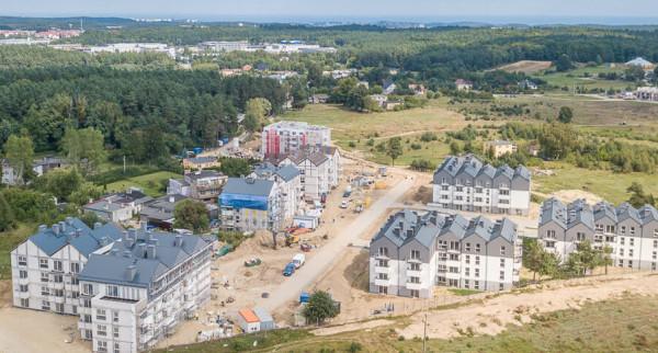 Jedną z inwestycji na Kaczych Bukach są budynki w ramach rządowego programu Mieszkanie Plus.