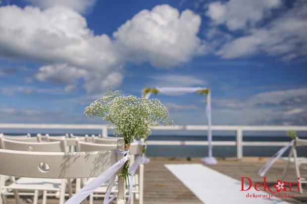 Po załatwieniu kilku formalności ceremonia zaślubin może odbyć się na molo.