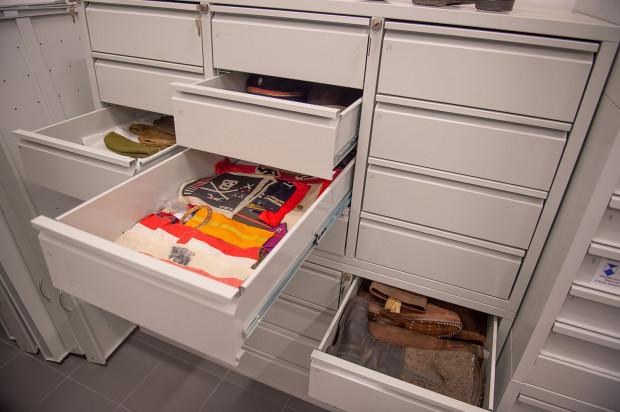 Pozostałe eksponaty w magazynach Muzeum II Wojny Światowej.