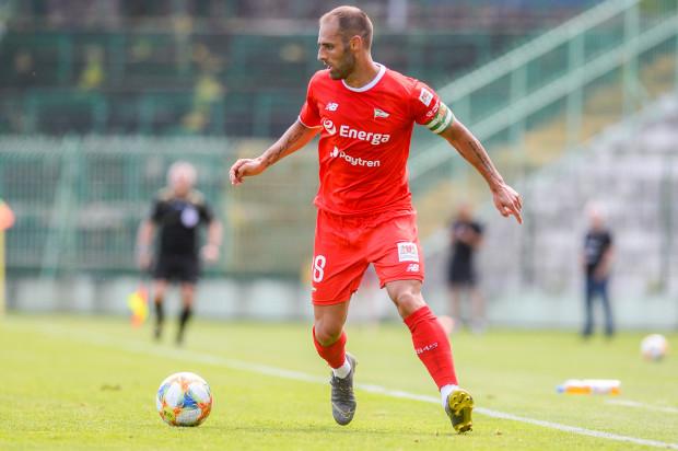 Flavio Paixao w sparingu Lechia Gdańsk - Bytovia (7:1) ustrzelił hat-tricka.