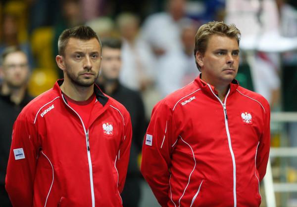 Michał Przysiężny (do lewej) i Marcin Matkowski przez lata byli filarami reprezentacji Polski w Pucharze Davisa.