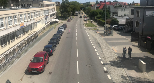 Obwodnica Witomina spowoduje zmniejszenie ruchu na ul. Chwarznieńskiej.