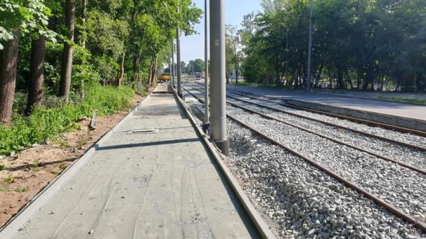Umowa na przebudowę linii tramwajowej opiewa na 110 mln zł.