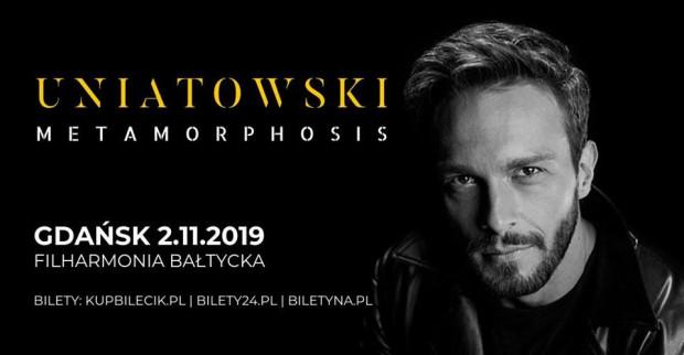 Koncert Sławka Uniatowskiego w Polskiej Filharmonii Bałtyckiej odbędzie się 2 listopada.