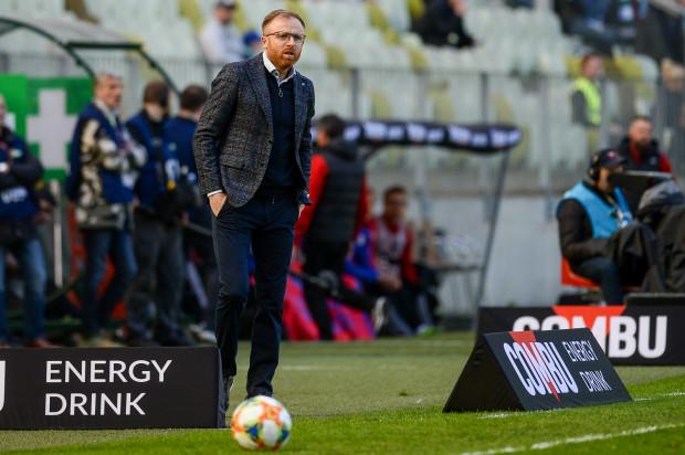 Piotr Stokowiec z nadzieją czeka na mecz o Superpuchar Polski z Piastem w Gliwicach.