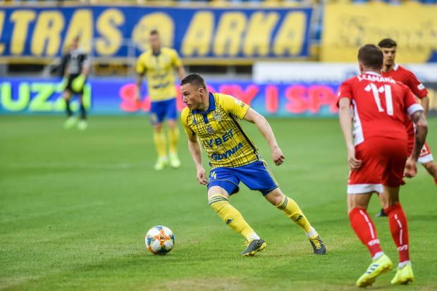 Michał Nalepa był jednym z autorów bramki w okresie przygotowawczym. W wygranym 2:1 spotkaniu z Olimpią Elbląg zdobył gola z rzutu karnego.