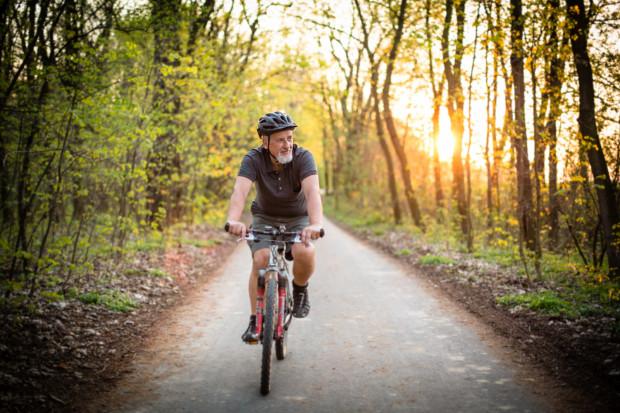 W ramach programu GreenSAM odbyła się także wycieczka rowerowa połączona ze zwiedzaniem.