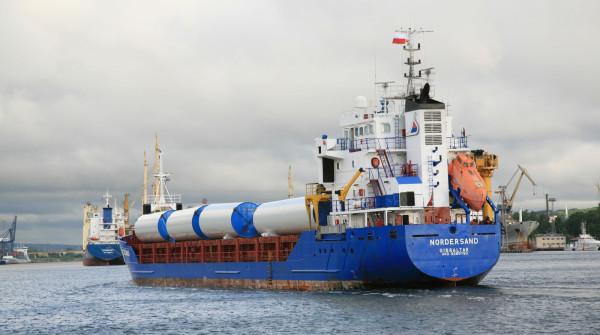 Port Gdynia ma doświadczenie w obsłudze ładunków ponadnormatywnych, były wśród nich także konstrukcje farm wiatrowych.
