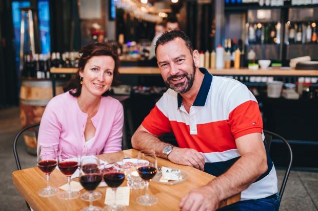 Małgorzata i Dirk Hamann.
