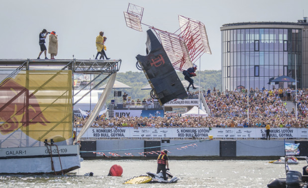 Poprzedni konkurs lotów w Gdyni zgromadził liczną publiczność.