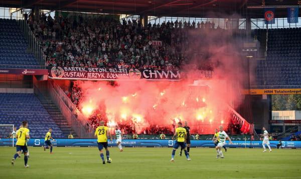 Trener Lechii Gdańsk przyznaje, że jest rozczarowany brakiem awansu do 3. rundy Ligi Europy.