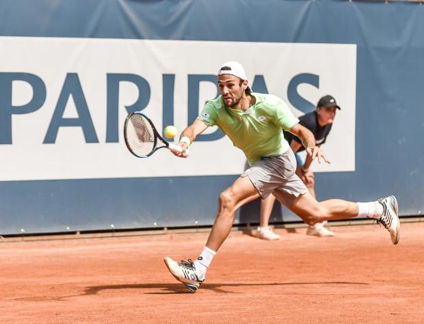 Stefano Travaglia, jak na tenisistę rozstawionego z numerem jeden, sięgnął po zwycięstwo w turnieju singlistów BNP Paribas Sopot Open.