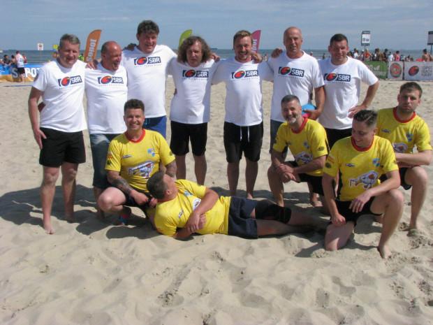 VII Sopot Beach Rugby - zespoły meczu towarzyskiego.
