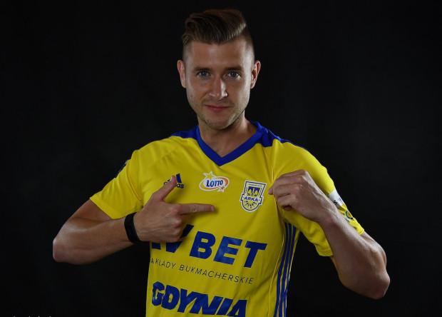 Marcin Budziński podpisał kontrakt z Arką Gdynia do końca sezonu z opcją przedłużenia o kolejny.