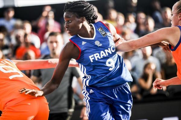 Alice Nayo jest reprezentantką Francji w koszykówce 3x3.