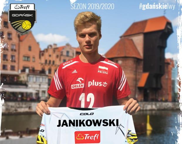Mateusz Janikowski w Gdańsku spędzi dwa najbliższe sezony, w ramach wypożyczenia z Onico Warszawa.