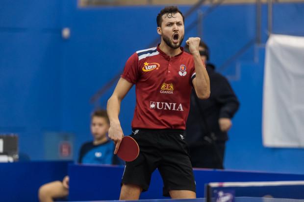 Patryk Chojnowski będzie grającym trenerem tenisistów stołowych z Gdańska, których w Lotto Superlidze zamiast Unii wspierać będzie Balta.