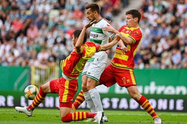 Artur Sobiech zdobył dla Lechii 3 z 4 goli w tym sezonie ekstraklasy. Jego występ w sobotnim meczu stoi pod znakiem zapytania z powodu urazu kolana.