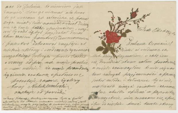 Listy Antoniego Mochockiego i Bronisławy Żebrowskiej to historia emigracyjnej miłości. Znajdziemy je w Muzeum Emigracji w Gdyni.
