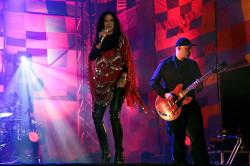 Na scenie oprócz koncertów Smolika i gwiazdy wieczoru - Matthew Herberta, zagrała również Kayah.