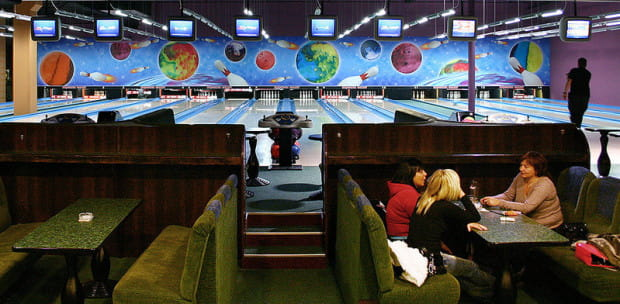 Kręgielnia MK Bowling w Szczecinie, podobna pojawi się w Gdańsku.