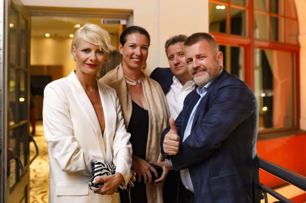 Gościem specjalnym tegorocznej edycji Sopot Match Race była Małgorzata Kożuchowska.
