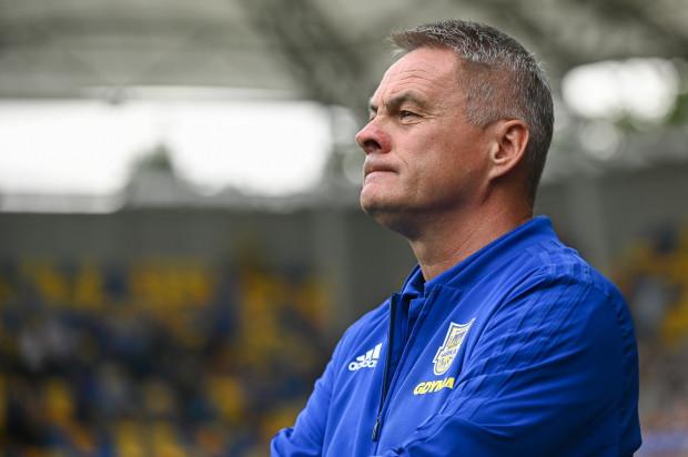 Po czterech porażkach w sześciu meczach Jacek Zieliński przyznał, że to będzie kolejny sezon, w którym arkowcy będą bili się o utrzymanie.