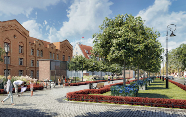 Czy tak będzie wyglądało zagospodarowanie parkingu przy Podwalu Staromiejskim? O tym zdecyduje miasto i inwestor po przeprowadzeniu badań archeologicznych. Wygląda na to, że tylko one mogą wstrzymać inwestycję w tym miejscu.