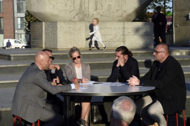 Podczas ugiegłotygodniowej debaty obie strony sporu mogły wymienić swoje poglądy na to, jak po zrealizowaniu inwestycji będzie wyglądało Podwale Staromiejskie.