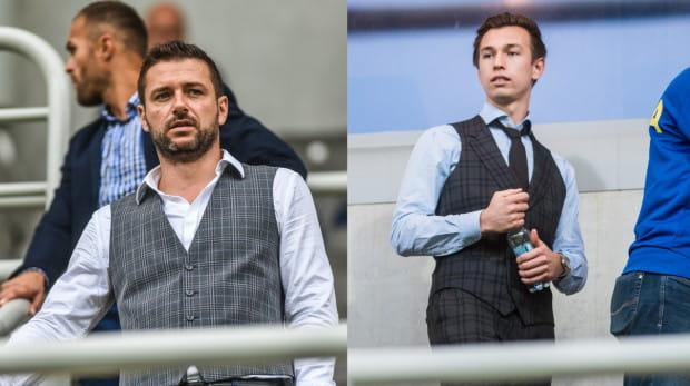 Według naszych informacji, właściciel Arki Dominik Midak po prawej) chciał zwolnienia prezesa klubu Wojciecha Pertkiewicza już w kwietniu. Wówczas jednak zabrakło zielonego światła ze strony miasta Gdyni.