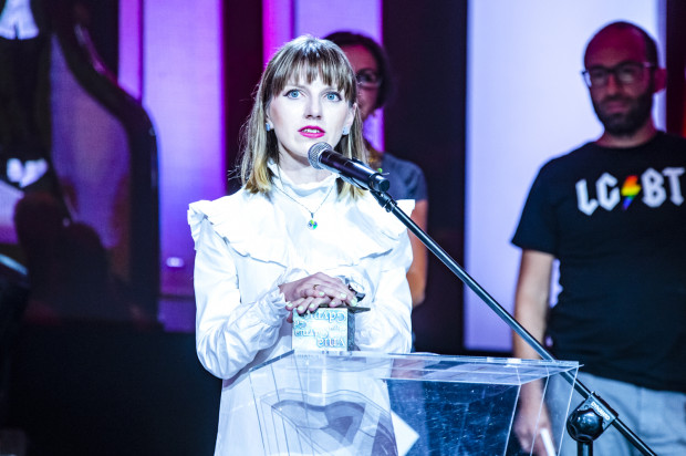 Olga Drenda, nagrodzona w kategorii: esej