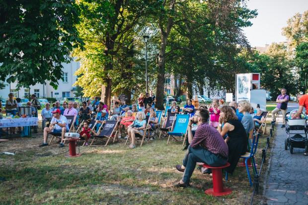 Spotkanie ws. zagospodarowania nieruchomości przy ul. Sobótki 15 zainteresowało wielu mieszkańców Wrzeszcza Górnego.