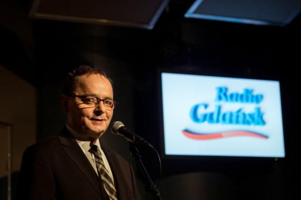 Dariusz Wasielewski na gali z okazji 74. urodzin RG pod koniec czerwca tego roku