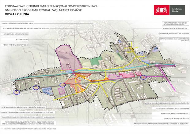 Ostatnią z czterech dzielnic objętych rewitalizacją jest Orunia Dolna.