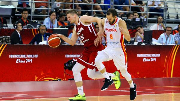 Polscy koszykarze dzielnie walczyli z Hiszpanami w ćwierćfinale mistrzostw świata. Teraz czeka ich walka o miejsca 5-8.
